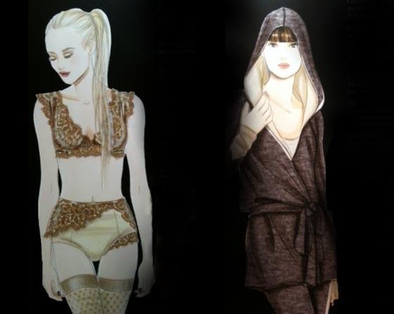 salon de la lingerie Hiver 2012/ 2013 tendances Nelly Rodi