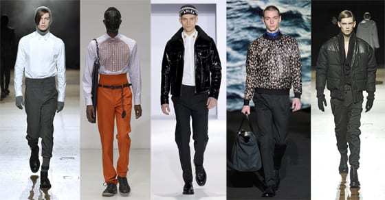 Collection Homme hiver 2013 JuunJ, Walter Van Beirendonck, Christian Lacroix, Paul Smith, Songzio