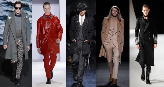 Collection homme hiver 2013, Paul Smith, Christian Lacroix, Jean-Paul Gaultier, Maison Martin Margiela, Rynshu