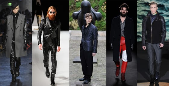 Collections Homme hiver 2013, Jean-Paul Gaultier, Rynshu, Gustavolins, Maison martin Margiela, Paul Smith