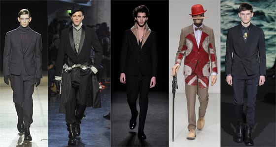 collections homme hiver 2013, Songzio, jean-Paul Gaultier, Maison Martin Margiela, Walter Van Beirendonck, Paul Smith
