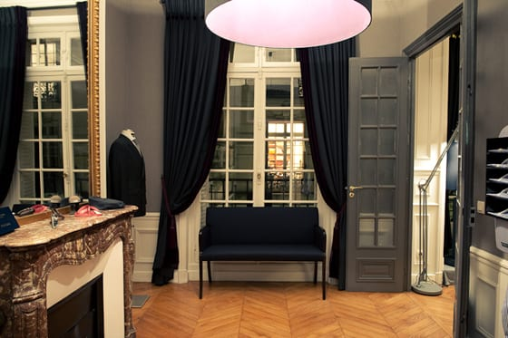 Showroom Savile House by Scabal - Paris