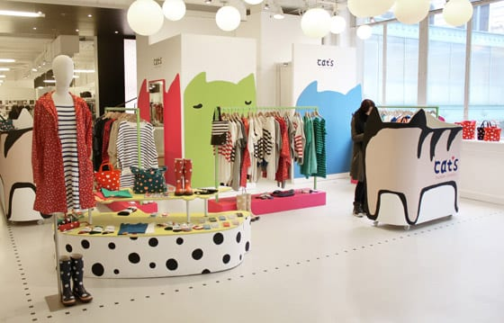 Tsumori Chisato - pop-up store Cat's au Bon Marché Rive Gauche ( Photo: Bon Marché)