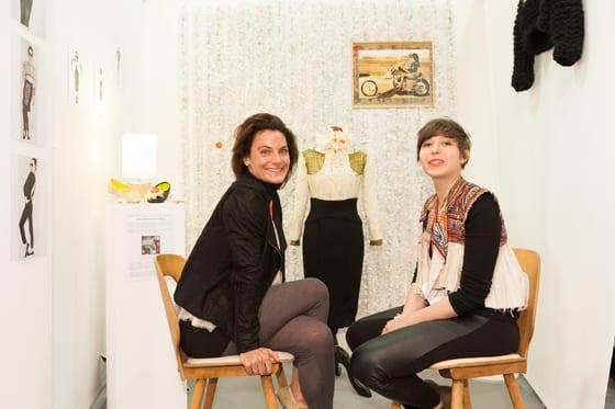Prix de la mode Ethique Dinard 2012 Celine Montousse et Juliette Imbert