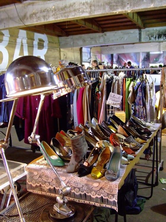 Le marché de la mode vintage de Lyon