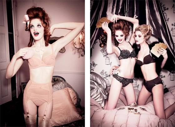 collection collection Chantal Thomass « Démasque moi » photo Ellen Von Unwerth