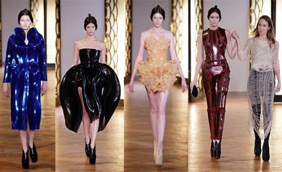 IRIS VAN HERPEN Couture collection Automne Hiver 2012-2013