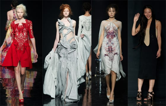 YIQING YIN Haute Couture Automne Hiver 2012-2013
