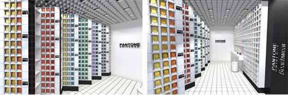 Boutique PANTONE Saint-Tropez par Humbert & Poyet