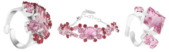 Bagues et Bracelets Moulin Rouge by On Aura Tout Vu Collection Joséphine