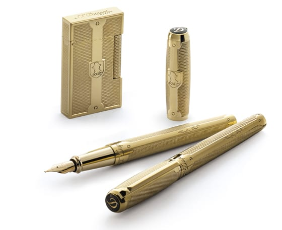 Briquet et Stylos S.T.DUPONT collection HUMPHREY BOGART