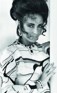 Elisabeth Taylor avec parure BVLGARI