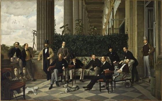 James Tissot - Le cercle de la rue royale