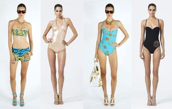 Versace Beachwear SS13 woman
