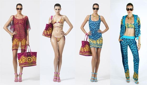 Versace Beachwear SS13 woman