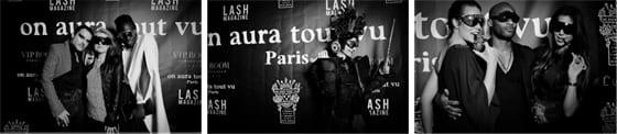 After show On Aura Tout Vu au VIP Room Theater Frédéric Blanc - Corinne Jeammet - photos Charles Bayonne