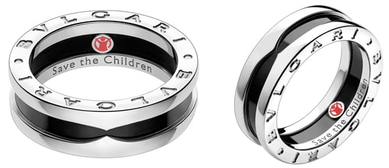 BVLGARI bague Save the Children