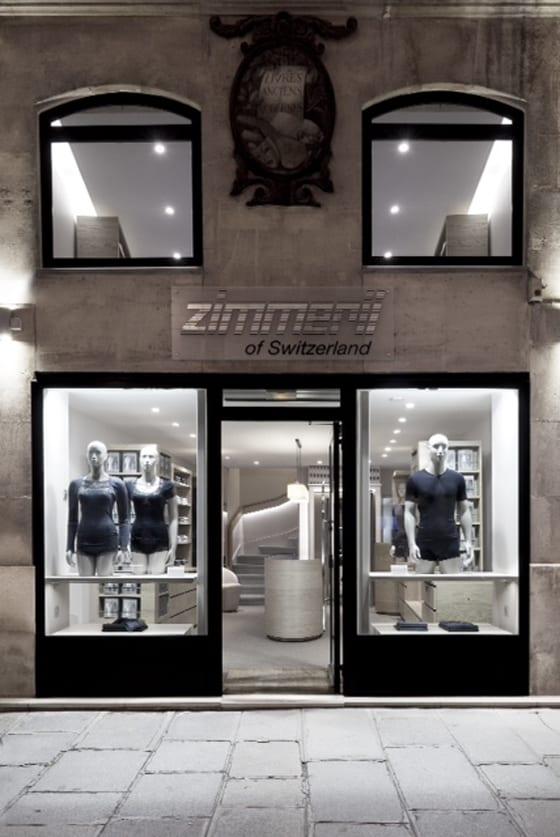 Zimmerli magasin Parisien