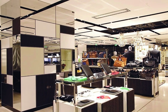 Galeries Lafayette Homme - photo Patricia Camino