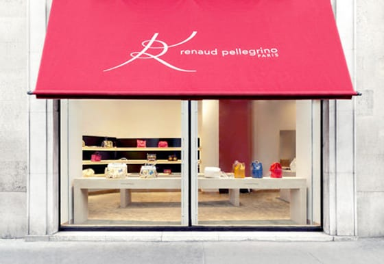 Boutique Renaud pellegrino Paris