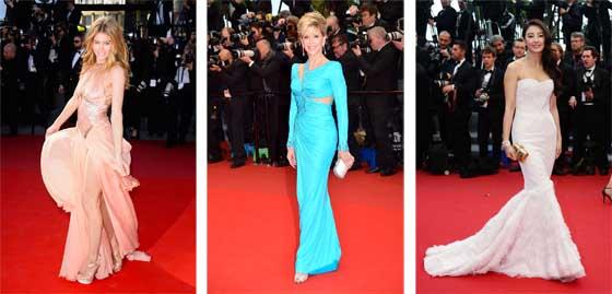 Doutzen Kroes et Jane Fonda en Atelier Versace. Zhan Yugi en Roberto Cavalli
