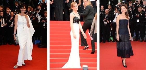 Ines de la Fressange_Emma Watson et Virginie Ledoyen en Chanel