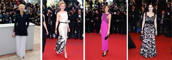 Tilda Swinton_ Nicole Kidman_ Bianca Balti et Amira Casar en Chanel