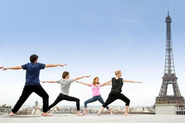 Break yoga à la Maison Blanche