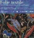 Affiche expo Folie Textile