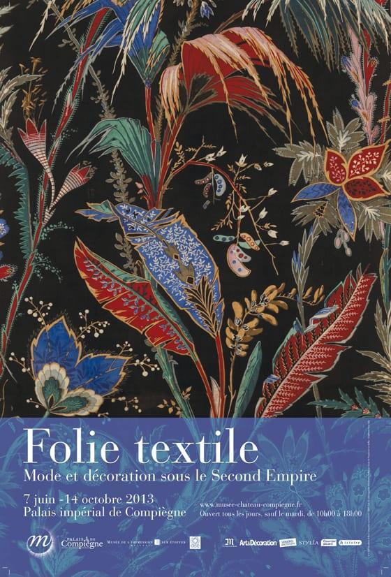 Affiche Folie Expo Folie Textile