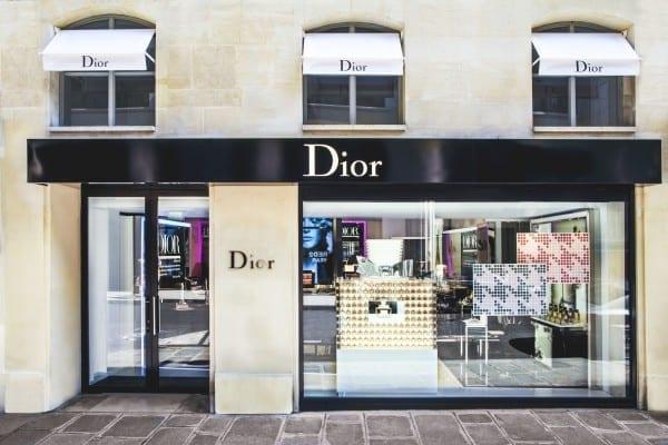 Boutique Dior. Matthieu Salvaing pour Christian Dior Parfums