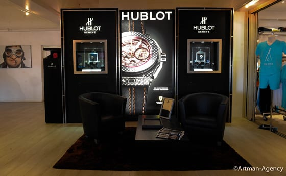 Boutique Hublot Nikky Beach Saint-Tropez