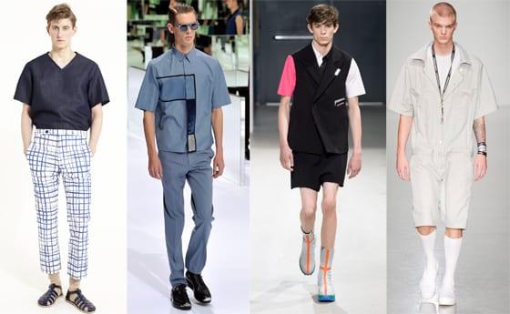 Carven, Dior Homme, Raf Simons, Shaun Samson SS 2014