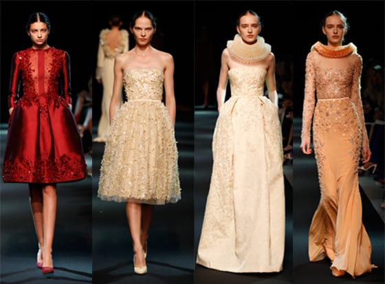 Georges Hobeika couture FW 2013-14