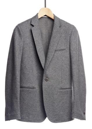 Veste en double jersey de laine- 650 euros ECLECTIC Le Bon Marche Rive- Gauche