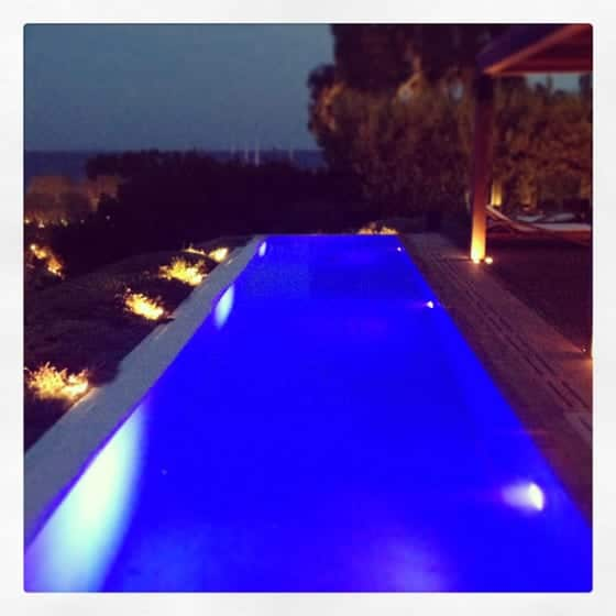 Piscine nuit Private House Island