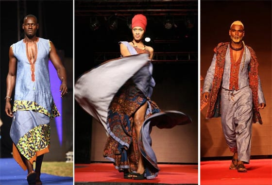 Sidy Counda -Sénégal Black Fashion Week Paris 2013