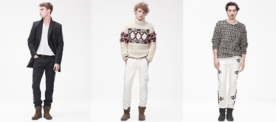 Collection Homme Isabel Marant pour H&M FW 2013-14