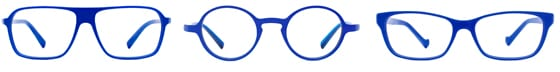 International Klein Blue Collection by Etnia Barcelona ligne optique