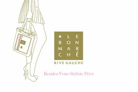 Carte cadeau Sur Rendez-Vous- Conseil en Mode- Le Bon March- Rive Gauche
