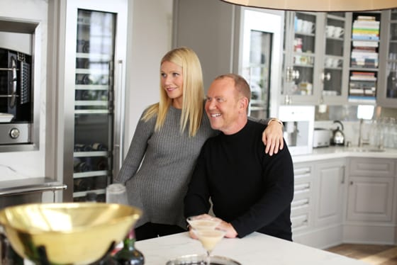Michael Kors et Gwyneth Paltrow