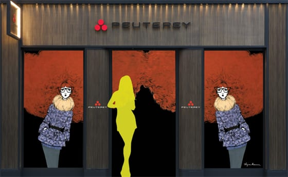 Peuterey Paris Flagship Store by Bijou Karman
