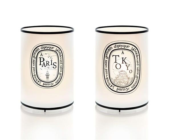 Lanternes Paris-Tokyo signées José Levéy pour Diptyque