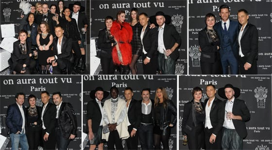 Livia Stoianova et Yassen Samouilov On Aura Tout Vu after Show Couture SS14 Photo Jean-louis Coulombel et la Nikon School