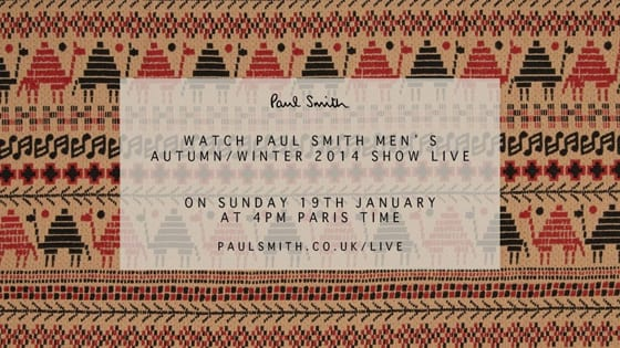 Paul Smith-WORLD-SHOW LIVE AH 2014-15