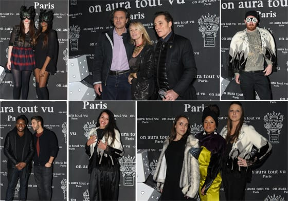 Photocall After Show On Aura Tout Vu Fashion week Haute Couture SS14 Club 79 _Kevin Miranda_ Photos Jean-Louis Coulombel et la Nikon School