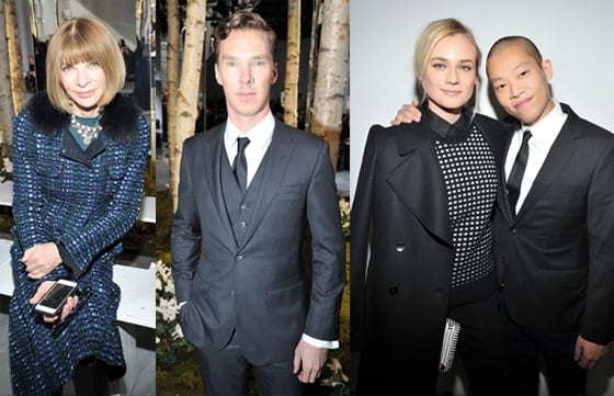 Anna Wintour_Benedict Cumberbatch_Diane Kruger et Jason Wu