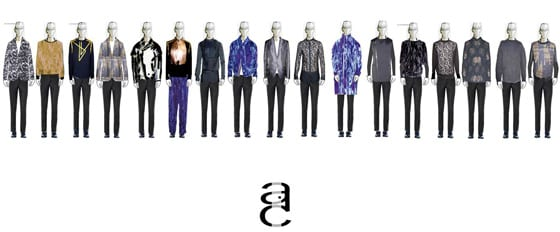 Collection Aux Corps Anonyme FW 14-15