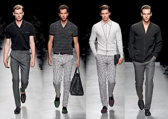 Bottega Veneta Collection Homme été 2014
