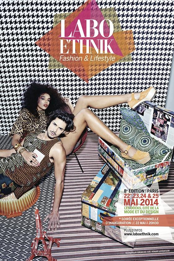 Affiche LE LABO ETHNIK 2014